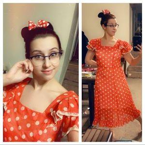1940s Minnie Mouse dress